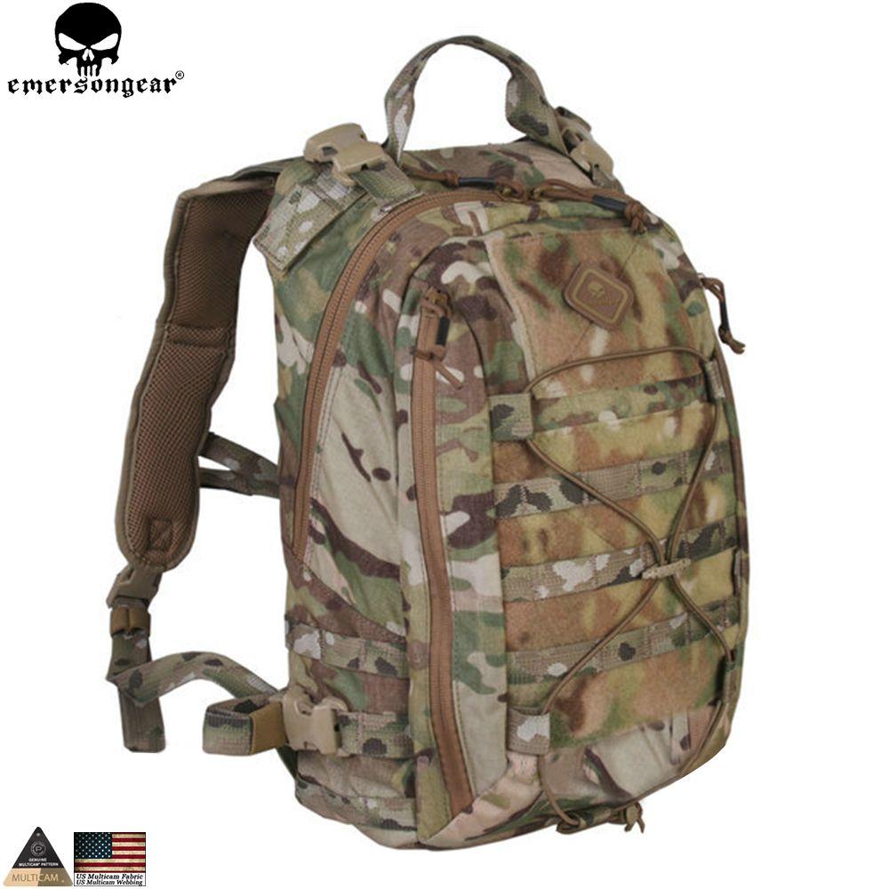 EMERSONGEAR Taktische Rucksack Assault Rucksack Abnehmbare Operator-Pack Reisen Modulare Pack Tactical Tasche Multicam EM5818