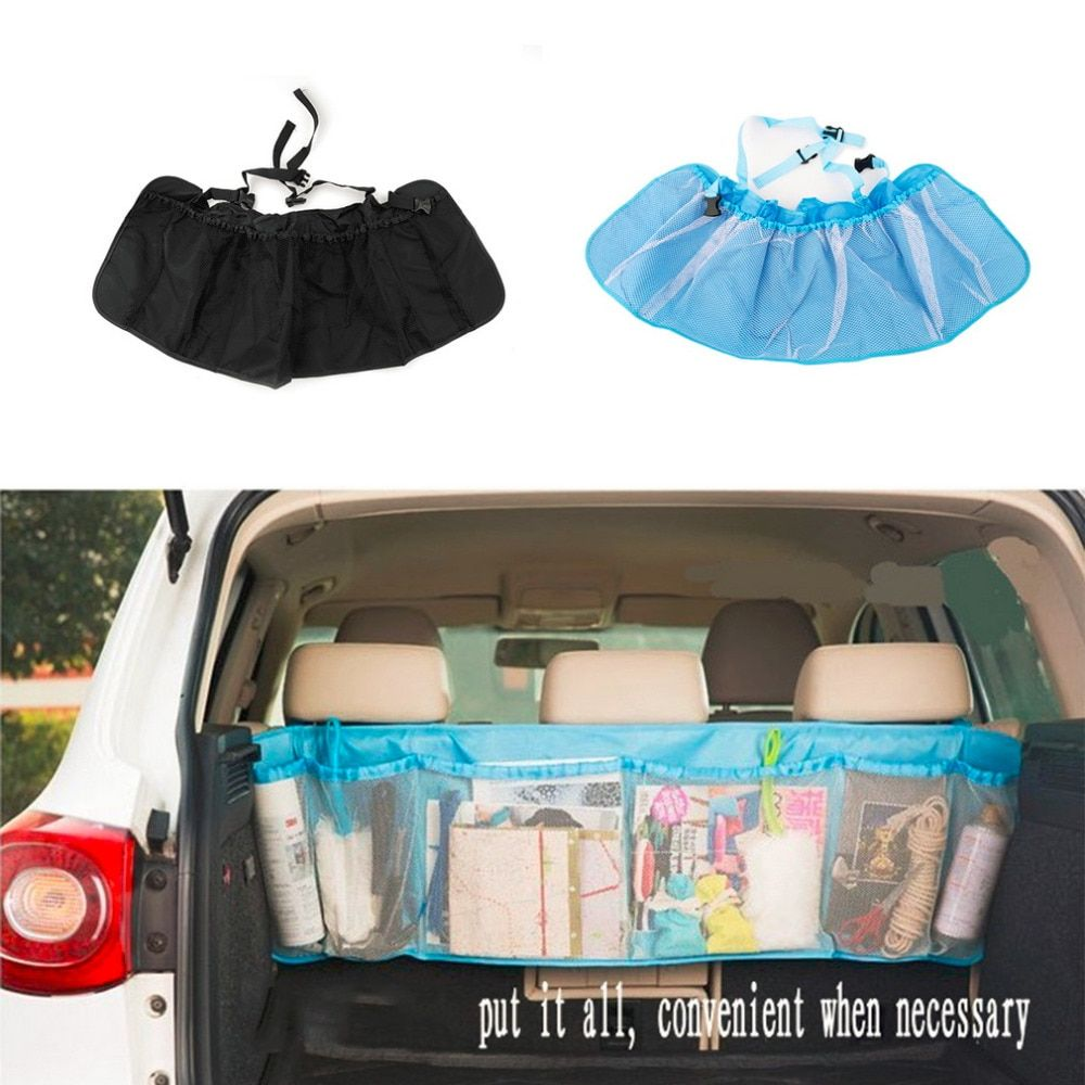 CAUTO Car Trunk Organizer Seat Cover Toys DVD Storage Container Bags Automobiles pouch Auto Styling Accessories