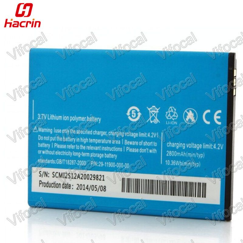 hacrin 2800Mah Battery for STAR C2000 / Tengda C2000 Smart Mobile Phone + Tracking Number - In Stock