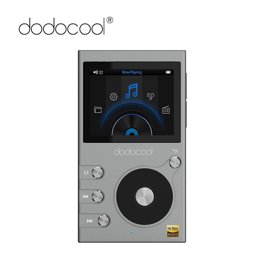 dodocool Hi-res 8GB Mp3 Player Hi-Fi Lossless Music Player with Radio Recorder FM Radio 2