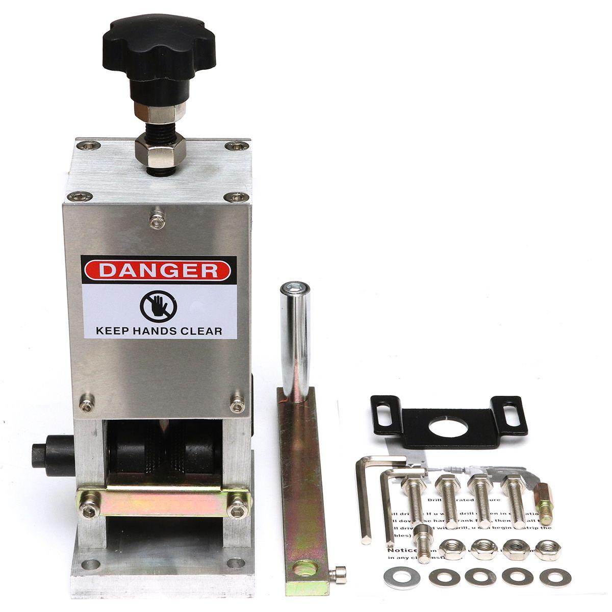 1 Stücke Draht Abisolierzange Abisoliermaschine Für Kupferdraht Recycling universal-handbuch kabel crimpen und peeling