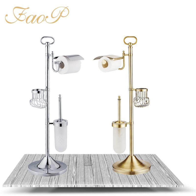 FOAP Bath Hardware Sets toilet brush holder Tissue Holder Bathroom Accessories set Bathroom Toilet Paper Holders