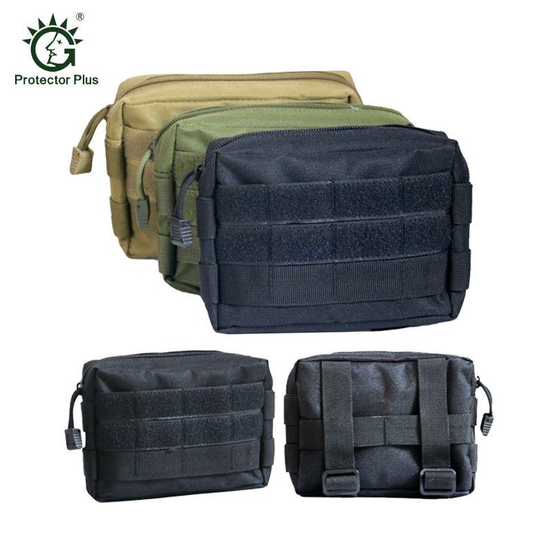 Bolsa EDC Bolsa de Nylon 600D Militar Airsoft Tactical MOLLE Small Utility Pouch Revista Impermeable Caza Al Aire Libre Bolsas Bolsa de Cintura