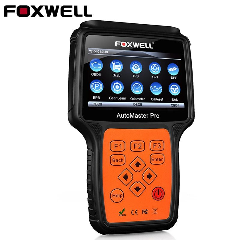 Foxwell NT644 Pro All-system OBD OBD2 Automotive Scanner Airbag Oil Reset TPS DPF odb2 Professional Car Diagnostic Scan Tool