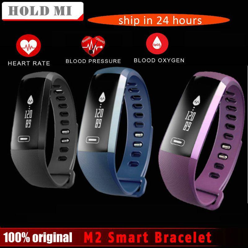 Mantenga mi m2 vs R5 pro Smart pulsera banda Presión arterial oxímetro deporte pulsera reloj ios android