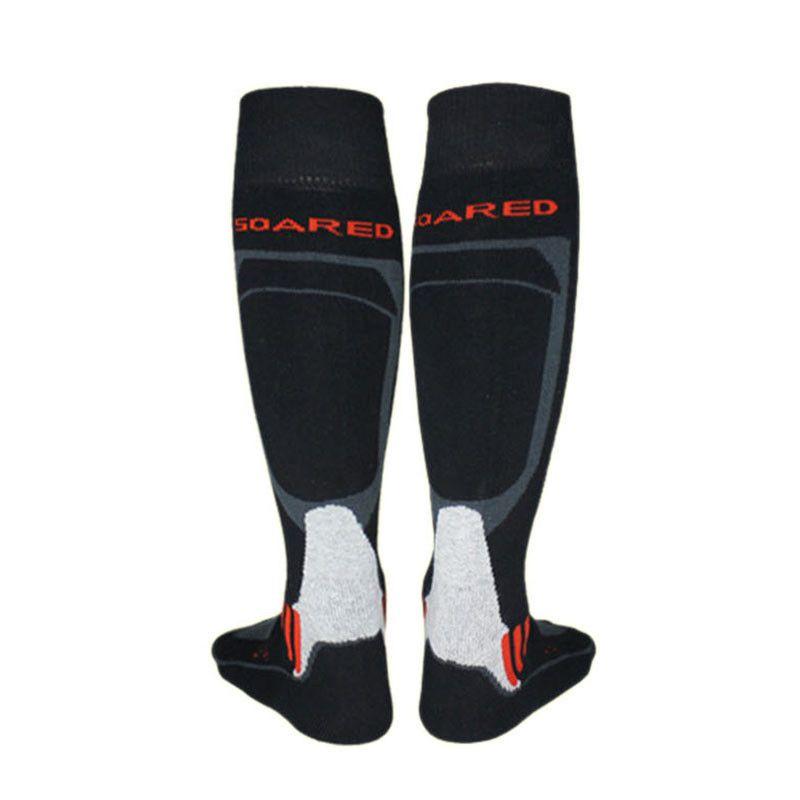 Los hombres Calientes Del Invierno Calcetines Gruesos de Algodón Deportes Ciclismo Esquí Snowboard De Esquí Térmica Calcetines de Futbol Thermsocks Calentadores de La Pierna del calcetín 2017