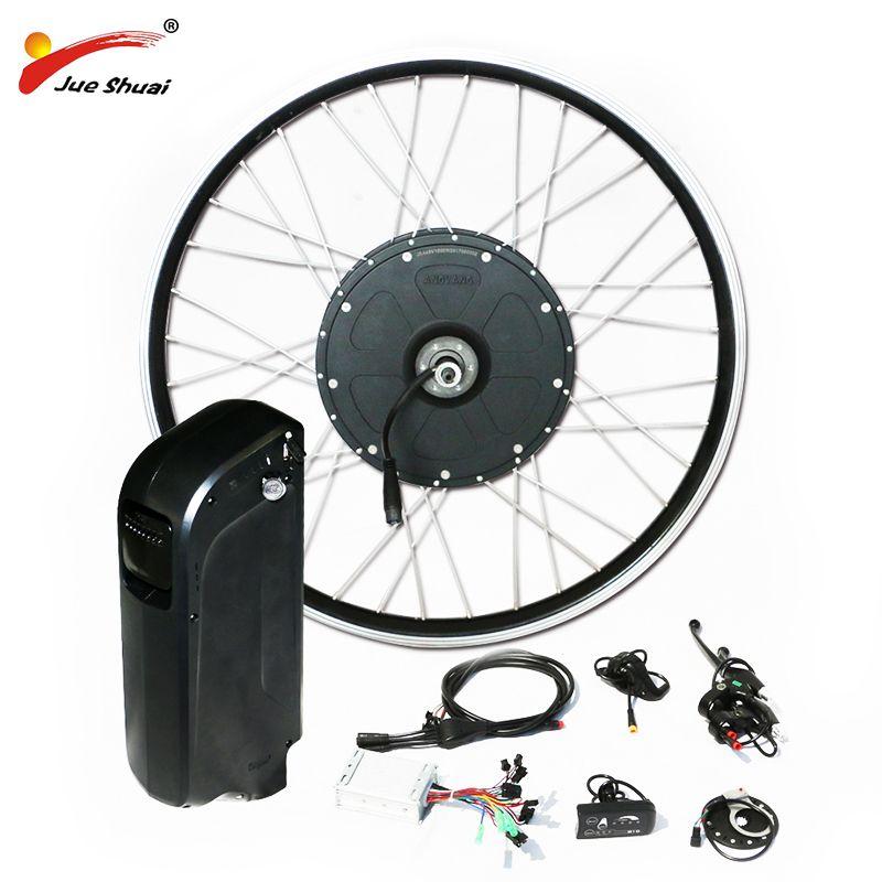 Verkäufe Förderung 1000 watt Leistungsstarke Elektrische Bike Kit mit 48 v wasserkocher Batterie Hub Motor Rad für Fett MTB Berg schnee Bike 4,0*26