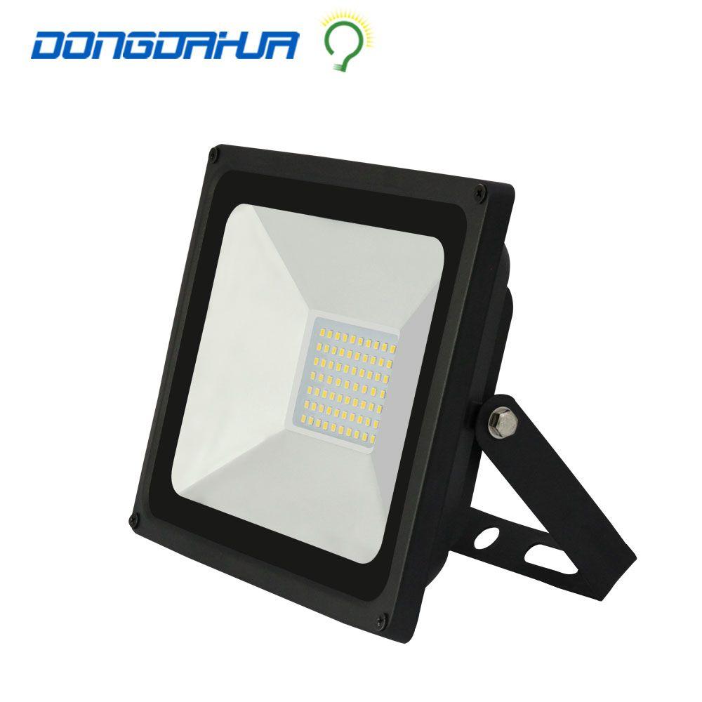 50W perfect power 110v 220v LED Flood Light Floodlight LED street Lamp 220V waterproof ip65  Landscape Lighting IP65 led spotlig