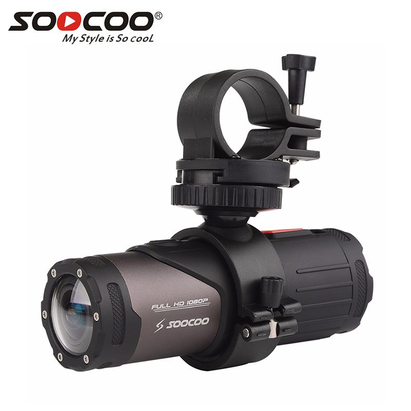 SOOCOO S20WS Mini Camcorder Action Camera 170 Degree Wide Lens Camera Built-in WiFi Full HD 1080P 10m Wateproof Sports Camera