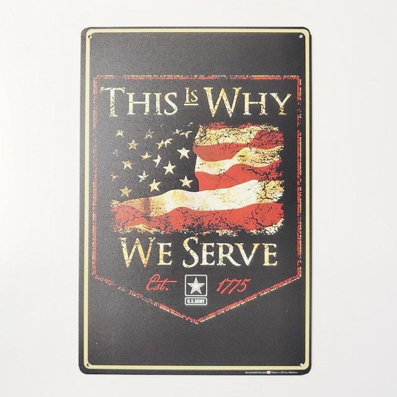 Us armée Forces spéciales métal étain signes Bar Pub maison mur signes Art affiche Plaques Vintage décor Plaques 20x30 CM