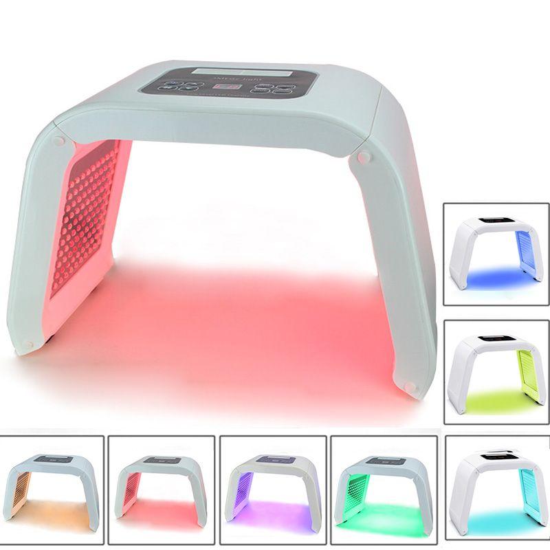 7 Color LED PDT Light Skin Care Beauty Machine LED Facial Mask PDT Therapy For Skin Rejuvenation Acne Remover Anti-wrinkle