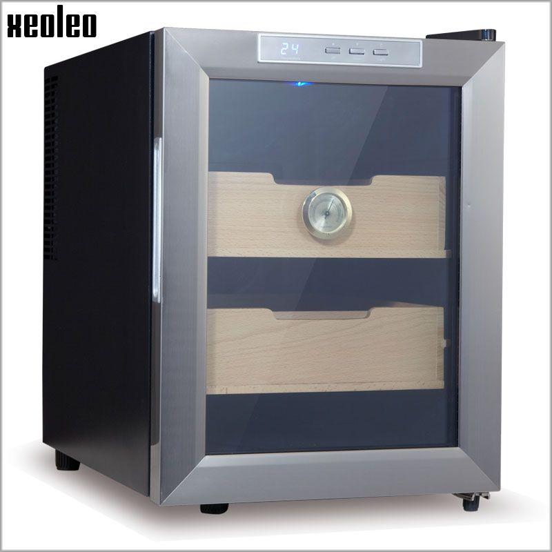 Xeoleo Cigar humidor Cigar humidifying cabinet 33L Electric Cigar Storage Box Thermostatic&Constant humidity Cigar moisturizing