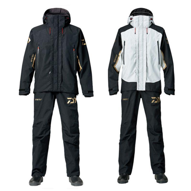 Herbst Langarm Wasserdichte Daiwa Angeln Kleidung und Hosen Jersey Outdoor-sportbekleidung Anzug Jagd Angeln Kleidung Sets