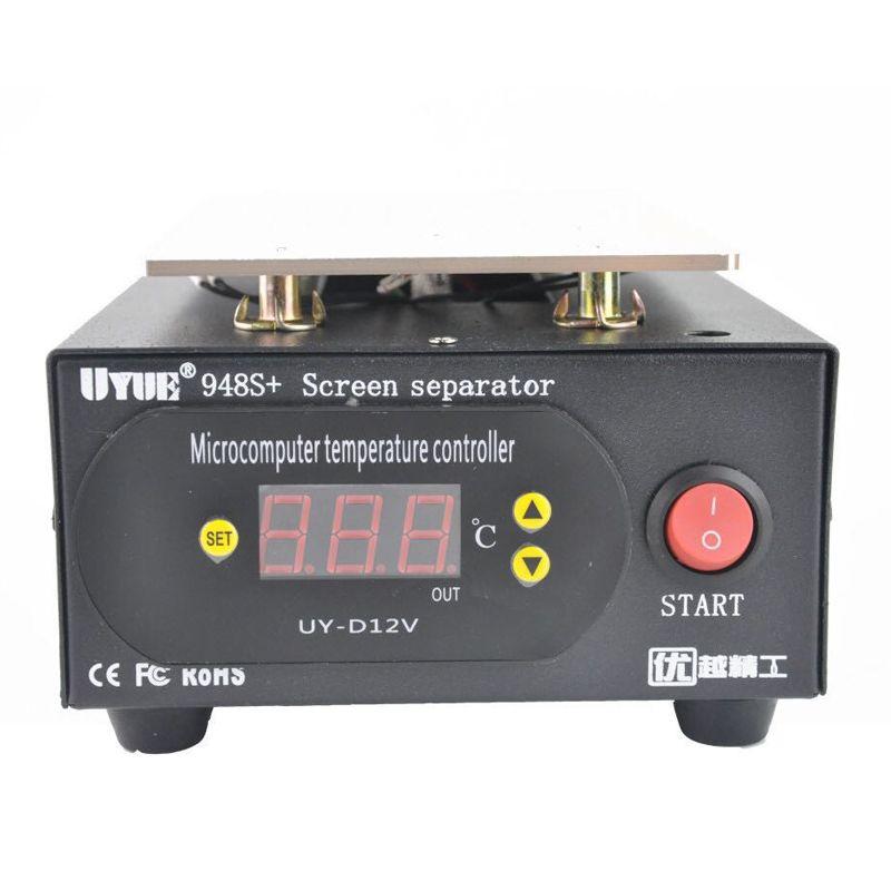 UYUE 948S+ LCD Separator Screen separator Built-in Vacuum Pump 7 inch for iphone Glass LCD Separator Split Screen Repair Machine