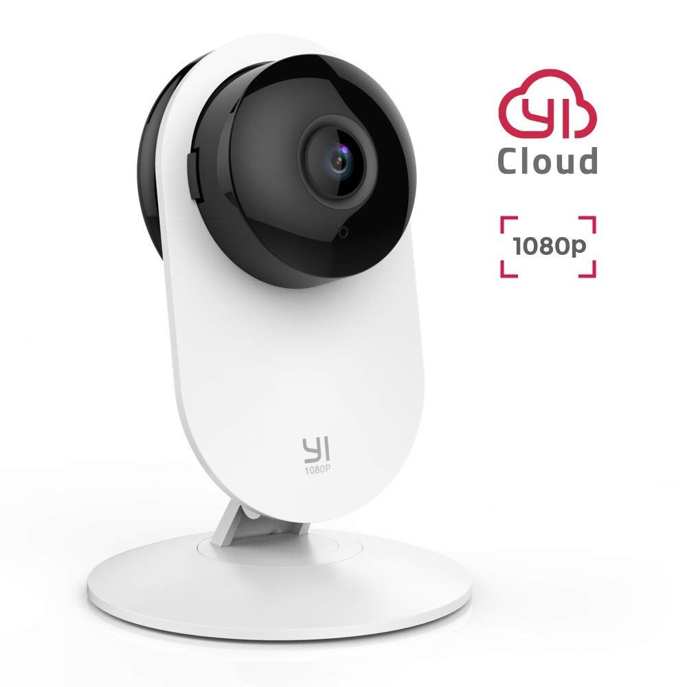 YI 1080 p caméra intérieure IP système de Surveillance de sécurité avec Vision nocturne pour la maison/bureau/bébé/nounou/moniteur pour animaux iOS Android