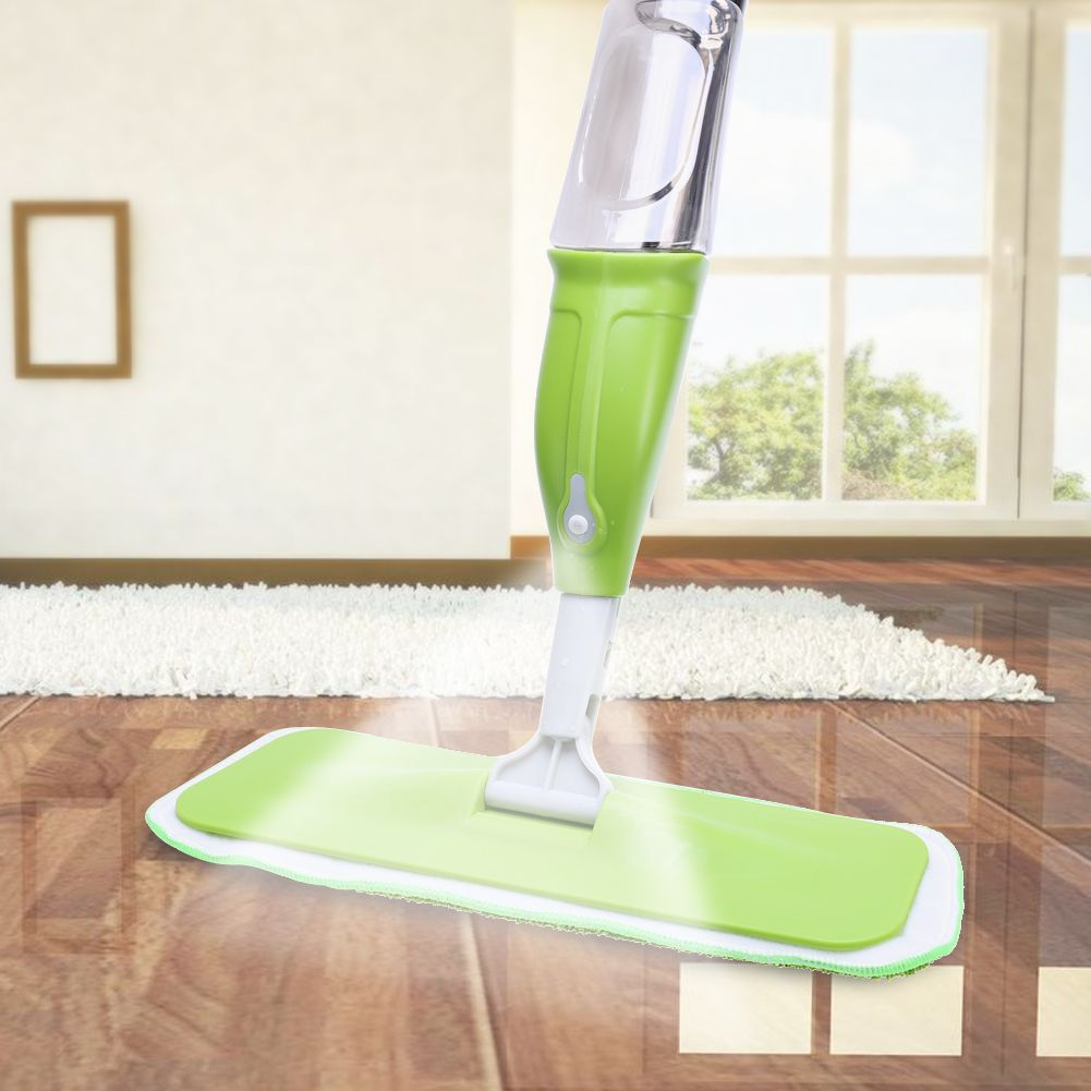 350ML Spray Mop Floor Cleaning Tool Microfiber Cloth Hand Wash Plate Mop Home Windows Kitchen Mop Sweeper Broom