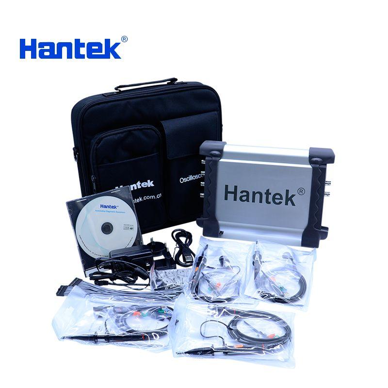 HantekDSO3254A 1GSa/s USB Oscilloscopes 4 Channels 250Mhz PC Storage Signal generator 16 Channels Logic Analyzer Tester Waveform