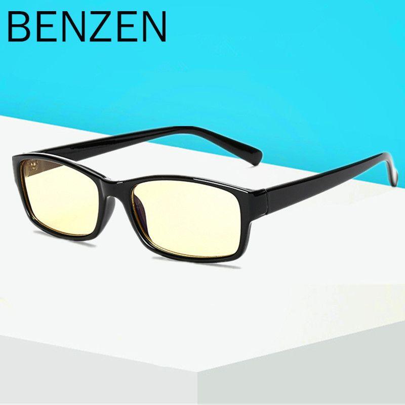 BENZEN Anti Blue Rays Computer <font><b>Goggles</b></font> Reading Glasses UV400 Radiation-resistant Glasses Computer Gaming Glasses With case 5021