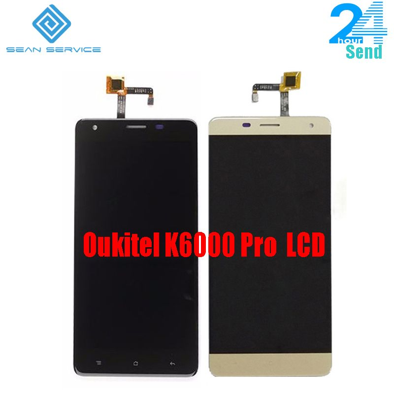 For Oukitel K6000 Pro 100% Original LCD Display and TP Touch Screen Digitizer Assembly +Tools 5.5