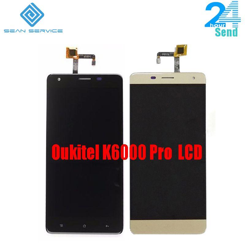 Pour Oukitel K6000 Pro 100% Original écran LCD et TP écran tactile numériseur assemblée + outils 5.5