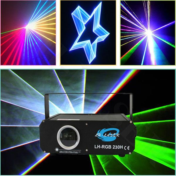 1000mW RGB full color Animation laser /DMX Analog Module laser /programmable laser lights