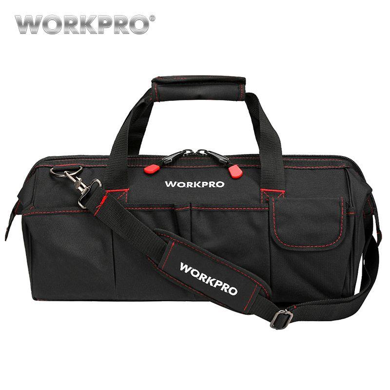 WORKPRO imperméable sacs de voyage hommes sac à bandoulière sacs à outils grande capacité sac pour outils matériel livraison gratuite