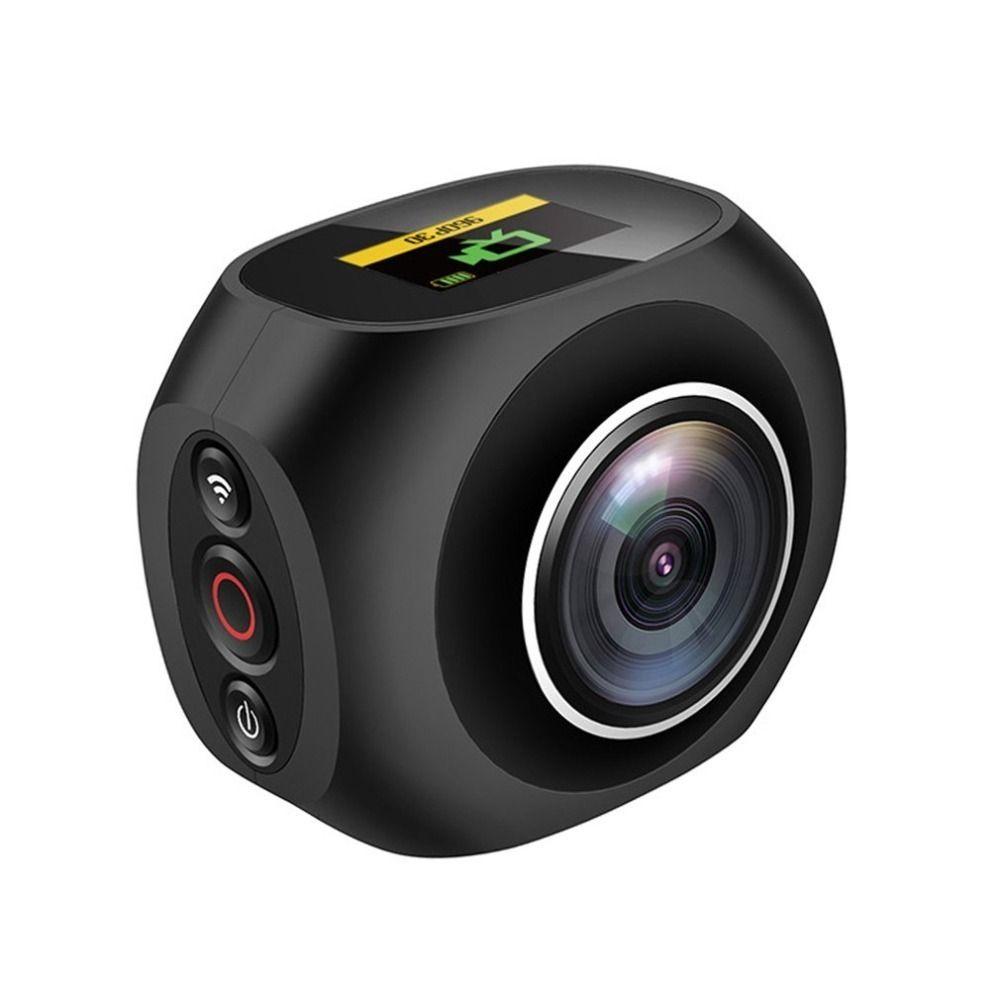 HOT 4K HD 360 Degree Panoramic Camera VR Mini Handheld Unique Dual Lens Camera WiFi Video Action 12 million pixel Camera Pano