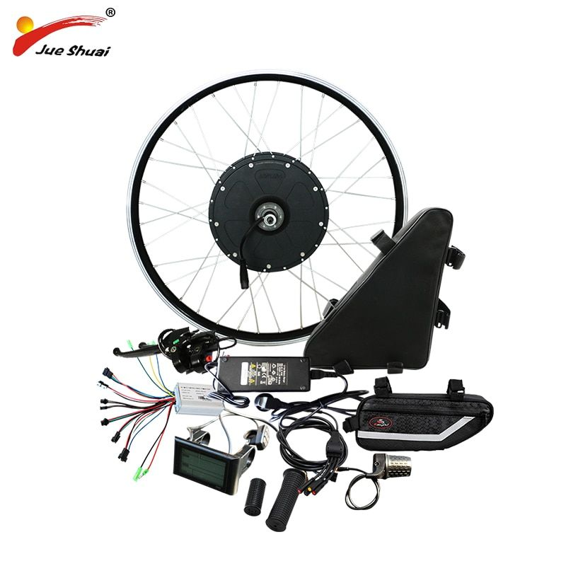 48V 1000w Electric Bike Conversion Kit with 48V 20AH Battery Motor Wheel for 20
