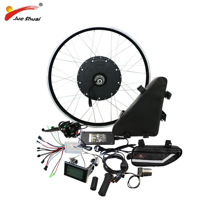 48V 1000w Electric Bike Conversion Kit with 48V 20AH Battery Motor Wheel for 20