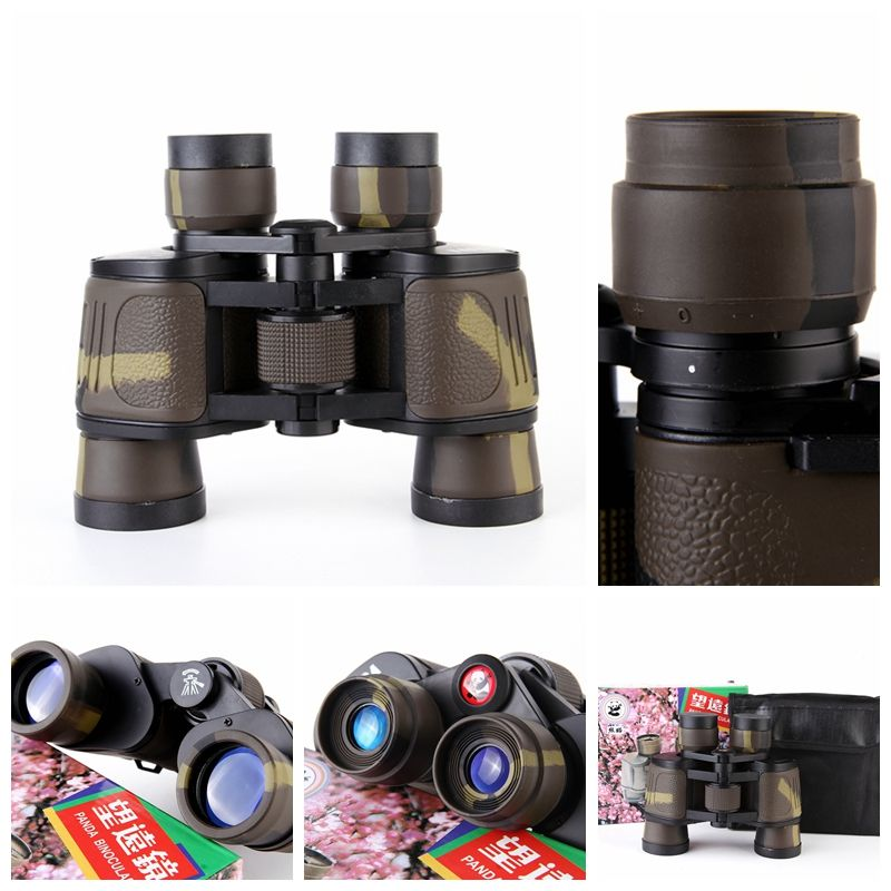 Classic Binocular Telescope 8X40 HD Blue Film Coated Optical Len 96M/ 1000M for Outdoor Travel Sightseeing, Hunting,Sport Match