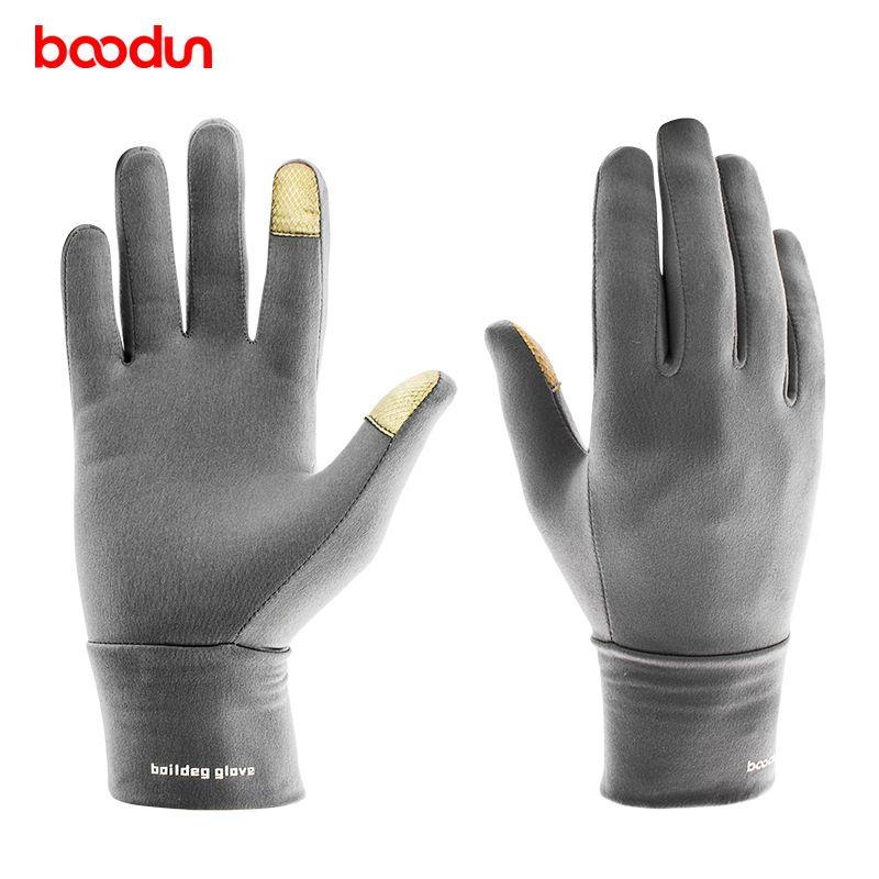 BOODUN coupe-vent Sports de plein air conduite course randonnée gants mitaines d'hiver vélo vélo cyclisme gants pour hommes femmes gant