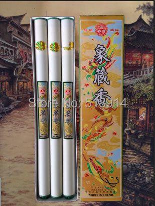 Bâton d'encens chinois Tisiang Tsang bâtons d'encens parfum maison 28 cm de long 300 bâtons par paquet livraison gratuite