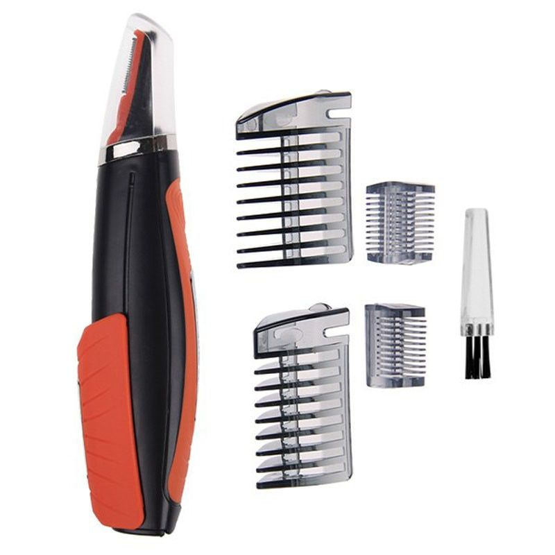 Pro 2 in 1 Hair Trimmer Switchblade Shaver Grooming Tool Kit