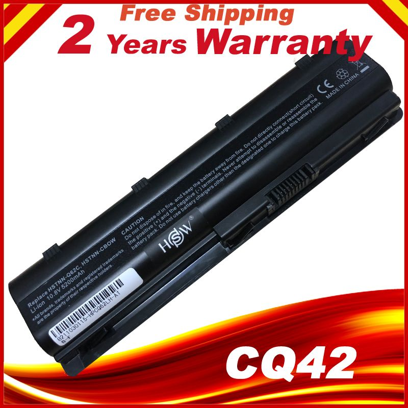 Batterie d'ordinateur portable Pour HP MU06 MU09 DE RECHANGE 593554-001 593553-001 CQ42 CQ62 G42 G62 G72 G4