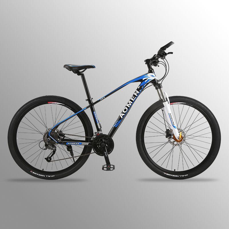 Fahrrad Mountainbike 27 Geschwindigkeit 29 zoll bike 29 rennrad Widerstand Gummi bike geschwindigkeit Männlichen Fliegende Leopard RU fahrrad bisiklet