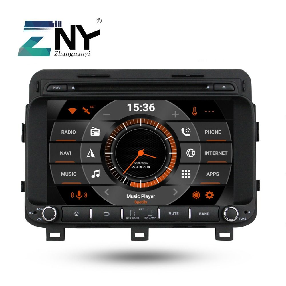 8 IPS Android 9.0 Auto DVD Für Kia K5 Optima 2014 2015 Auto Radio FM Stereo GPS Navigation Audio Video player Backup Kamera