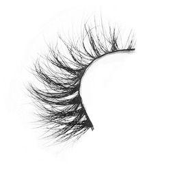 D008 1Pair 100% Real Siberian 3D Mink Full Strip False Eyelash Long Individual Eyelashes Mink Lashes Extension