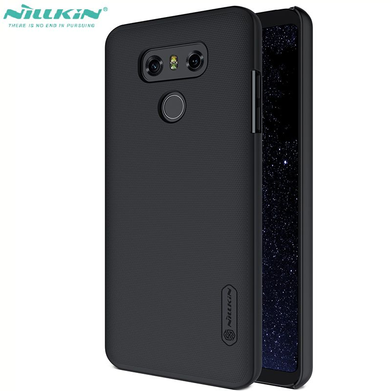 nillkin back cover for lg g6 Anti-Knock PC Frosted g6 defend Protective Case
