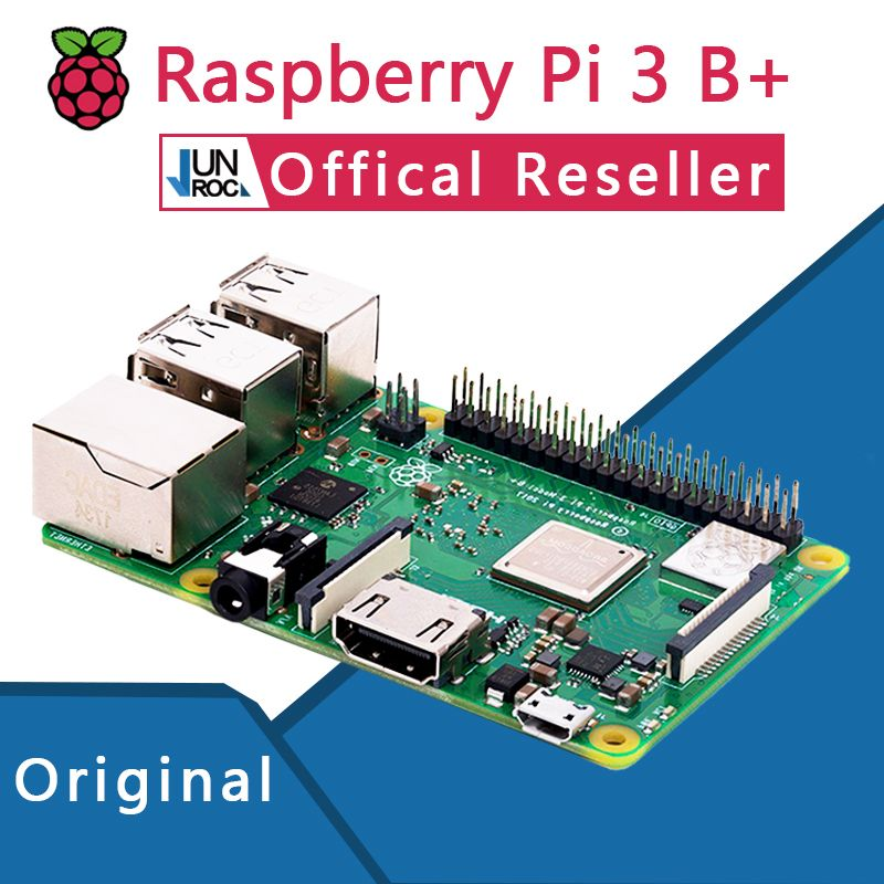 Original Offical Raspberry Pi 3 Model B+ Plus Pi 3B+ Linux Demo Board Python Programming Mini PC