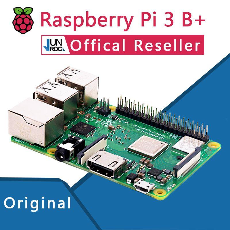 Original Offical Raspberry Pi 3 Model B+ Plus Pi 3B+ Linux Demo Board Python Programming Mini PC
