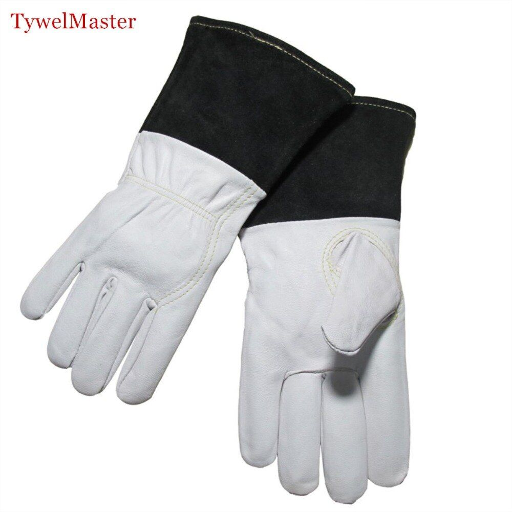Gant de soudage TIG gant en peau de chèvre de première qualité longueur 12