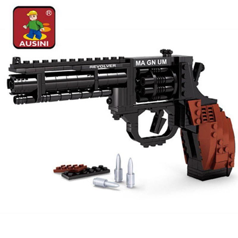 300 pièces bricolage pistolet assemblage blocs jouet pistolet bloc de construction briques pistolet jouets modèle pistolet enfants jouets éducatifs cadeau
