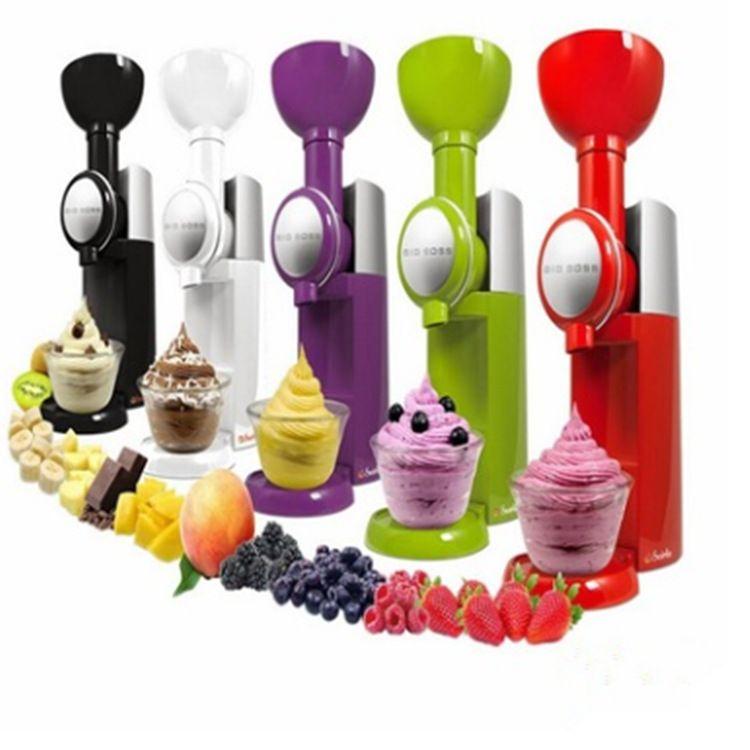 Big Boss Swirlio Automatic Fruit Dessert Machine Fruit Ice Cream Maker Milkshake Machine Ice Cream Tool