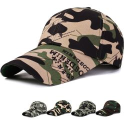 New baseball caps fashion casual adult outdoor camouflage sun hats classic men and women hat   camouflage cap