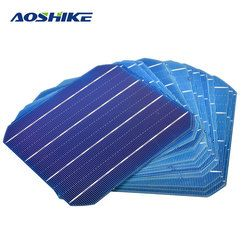 Aoshike 20Pcs 156x156 Monocrystalline Silicon Flexible Solar Panel Solar Cell DIY 4.7W 0.5V Solars Panel China Panneau Solaire