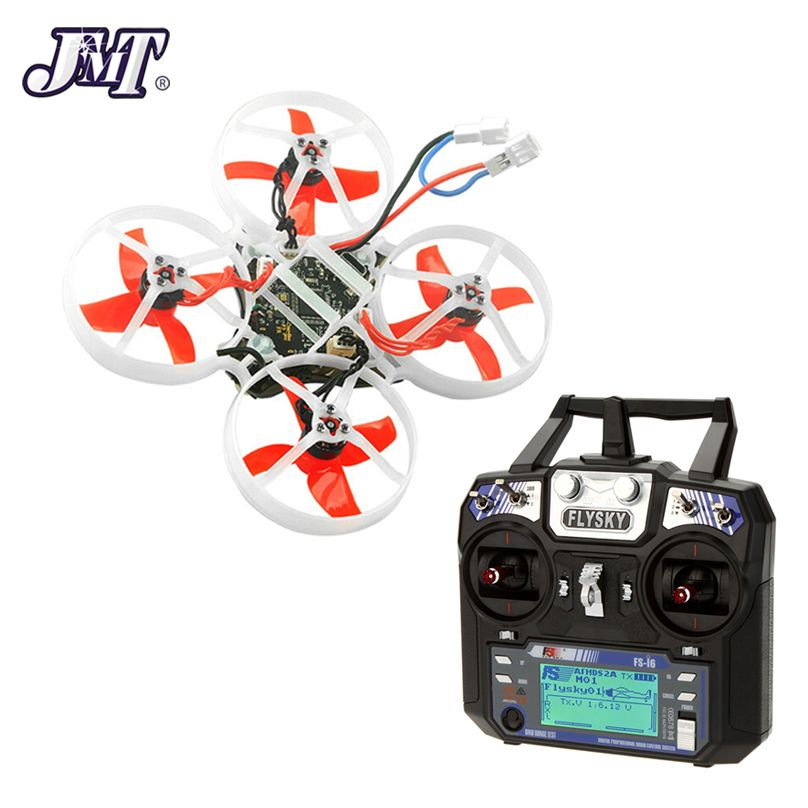 JMT Mobula7 75mm Bwhoop Crazybee F3 Pro OSD 2S FPV Racing Drone Quadcopter Upgrade BB2 ESC 700TVL BNF with Flysky FS i6 TX
