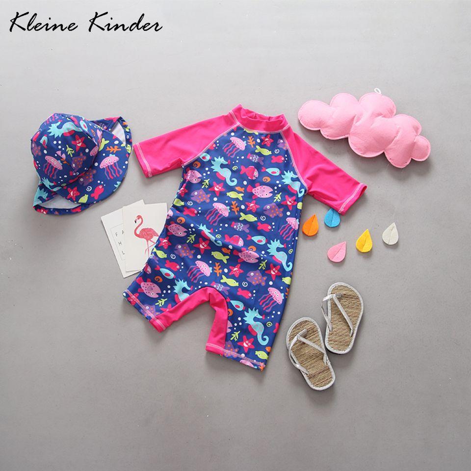 Mädchen bademode one stück modische kinder badeanzug für mädchen upf 50 + UV rays schutz baby mädchen schwimmen anzug badeanzug
