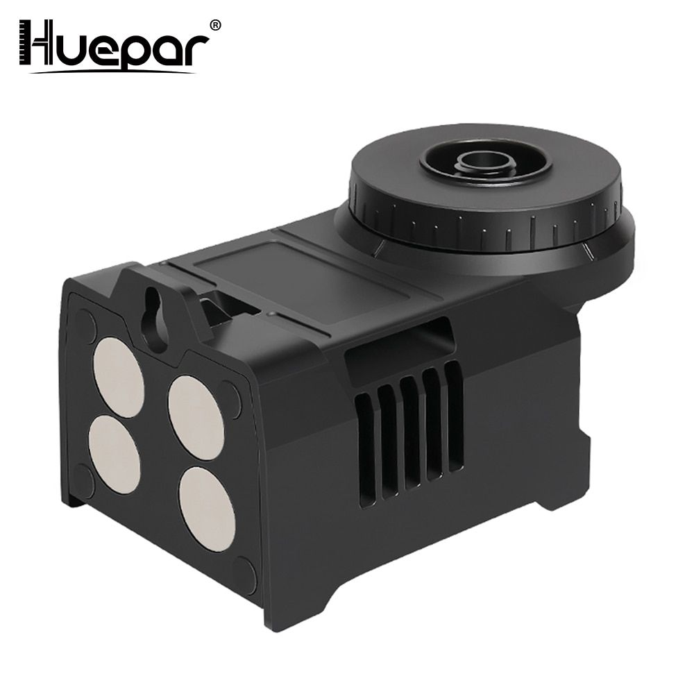 Huepar PV5 Multifunctional Four Magnets Magnetic Bracket Laser Level Adapter Fully Adjustable Pivoting Base to 360 Degree Holder