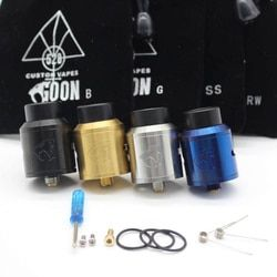 Goon v1.5 atomizador RDA con BF PIN 528 RDA cigarrillo electrónico atomizador tanque Rebuildable goteo atomizador flujo de aire ajustable