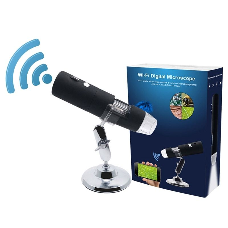 1080 P WIFI numérique 1000x Microscope loupe caméra pour Android ios iPhone iPad